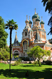 Cattedrale ortodossa russa Immagini Stock Libere da Diritti