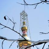 Cattedrale ortodossa russa a Almaty, il Kazakistan Immagine Stock