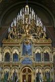 Cattedrale ortodossa russa di Uspenski, Finlandia fotografia stock libera da diritti