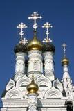 Cattedrale ortodossa in Russia Fotografie Stock