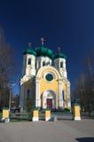 Cattedrale ortodossa in Russia Fotografia Stock Libera da Diritti