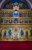 Cattedrale ortodossa a Sibiu Immagini Stock