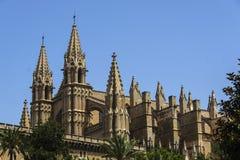 Cattedrale in Palma de Mallorca immagini stock libere da diritti