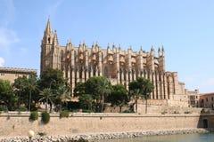 Cattedrale in Palma de Mallorca Fotografia Stock