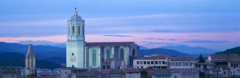 Cattedrale panoramica Fotografia Stock Libera da Diritti