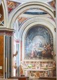 Cattedrale papale della basilica di Brindisi, Puglia, Italia Fotografia Stock