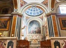 Cattedrale papale della basilica di Brindisi, Puglia, Italia Fotografie Stock Libere da Diritti