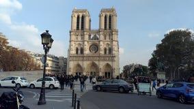 Cattedrale Parigi del Notre Dame Immagini Stock
