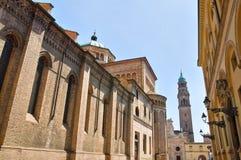 Cattedrale. Parma. L'Emilia Romagna. L'Italia. Immagini Stock