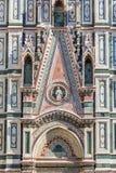 Cattedrale portal. Portal on Cattedrale di Santa Maria del Fiore Stock Photo