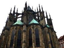 Cattedrale Praga della st Vitus Immagini Stock