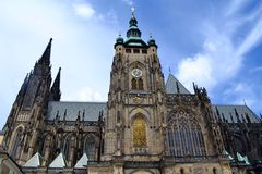 Cattedrale Praga della st Vitus Immagine Stock