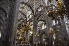 cattedrale Puebla immagine stock