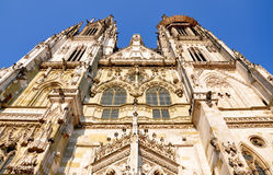Cattedrale a Regensburg, Germania, Europa Fotografia Stock