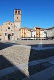 Cattedrale Romanic in Lodi, Italia Fotografie Stock