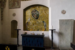 Cattedrale a Roskilde, Danimarca Fotografie Stock