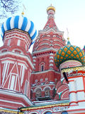 Cattedrale russa sul quadrato rosso Russia fotografie stock libere da diritti