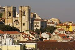Cattedrale-Sé di Lisbona Immagine Stock Libera da Diritti