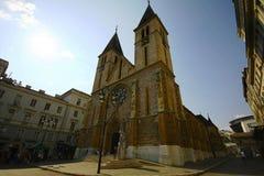 Cattedrale sacra del cuore Fotografia Stock Libera da Diritti