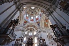 Cattedrale - Salisburgo, Austria Fotografia Stock