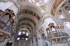 Cattedrale - Salisburgo, Austria Immagine Stock Libera da Diritti