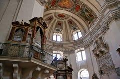 Cattedrale - Salisburgo, Austria Immagine Stock
