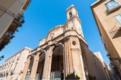 Cattedrale San Lorenzo, Trapani, Sicily, Włochy Obraz Royalty Free