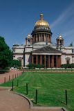 Cattedrale a Sankt-Pietroburgo Immagine Stock Libera da Diritti