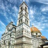 Cattedrale Santa Maria del Fiore a Firenze, Italia Immagine Stock