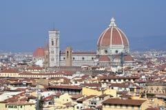 Cattedrale Santa Maria del Fiore a Firenze, Italia Fotografie Stock