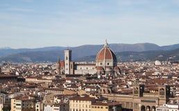 Cattedrale Santa Maria del Fiore.  Firenze, Italia, Fotografia Stock Libera da Diritti