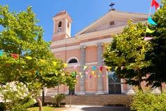 Cattedrale Santa Maria Della Neve Royaltyfria Bilder