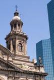 Cattedrale a Santiago Fotografie Stock Libere da Diritti