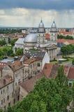Cattedrale in Satu Mare Fotografie Stock