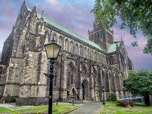 Cattedrale Scozia di Glasgow Immagini Stock Libere da Diritti