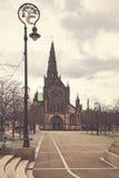 Cattedrale Scozia di Glasgow Fotografia Stock