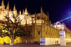 Cattedrale Sevilla immagine stock