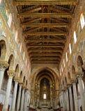Cattedrale Sicilia Italia di Monreale Immagine Stock