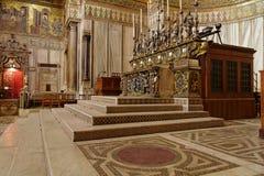 Cattedrale Sicilia Italia di Monreale Fotografie Stock Libere da Diritti