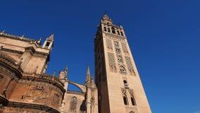 Cattedrale in Siviglia, Spagna stock footage