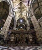 Cattedrale Siviglia spagna Fotografia Stock Libera da Diritti