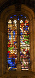 Cattedrale Spagna di Salamanca del vetro macchiato dei nobili di angeli nuova Fotografie Stock Libere da Diritti