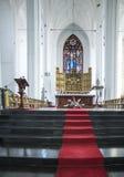 Cattedrale St Mary Danzica Polonia Europa dell'altare Fotografie Stock