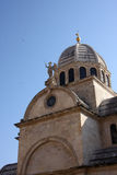 Cattedrale Sveti Jakov in Sibenik Fotografia Stock Libera da Diritti