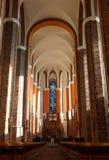 Cattedrale in Szczecin Fotografia Stock Libera da Diritti