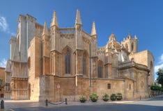 Cattedrale a Tarragona Fotografia Stock Libera da Diritti