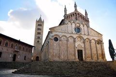 Cattedrale in Toscana, Italia Fotografia Stock Libera da Diritti