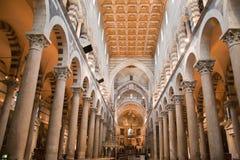 Cattedrale Toscana Italia di Pisa Fotografia Stock Libera da Diritti
