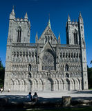 Cattedrale Trondeim di Nidaros Fotografie Stock