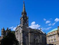 Cattedrale un giorno soleggiato - Scozia di Edimburgo Immagine Stock Libera da Diritti